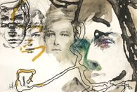 Rimbaud illuminations - Croquis de Rimbaud I